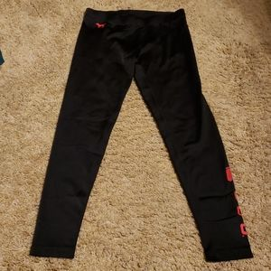 Pink by Victoria's Secret full length leggings osu